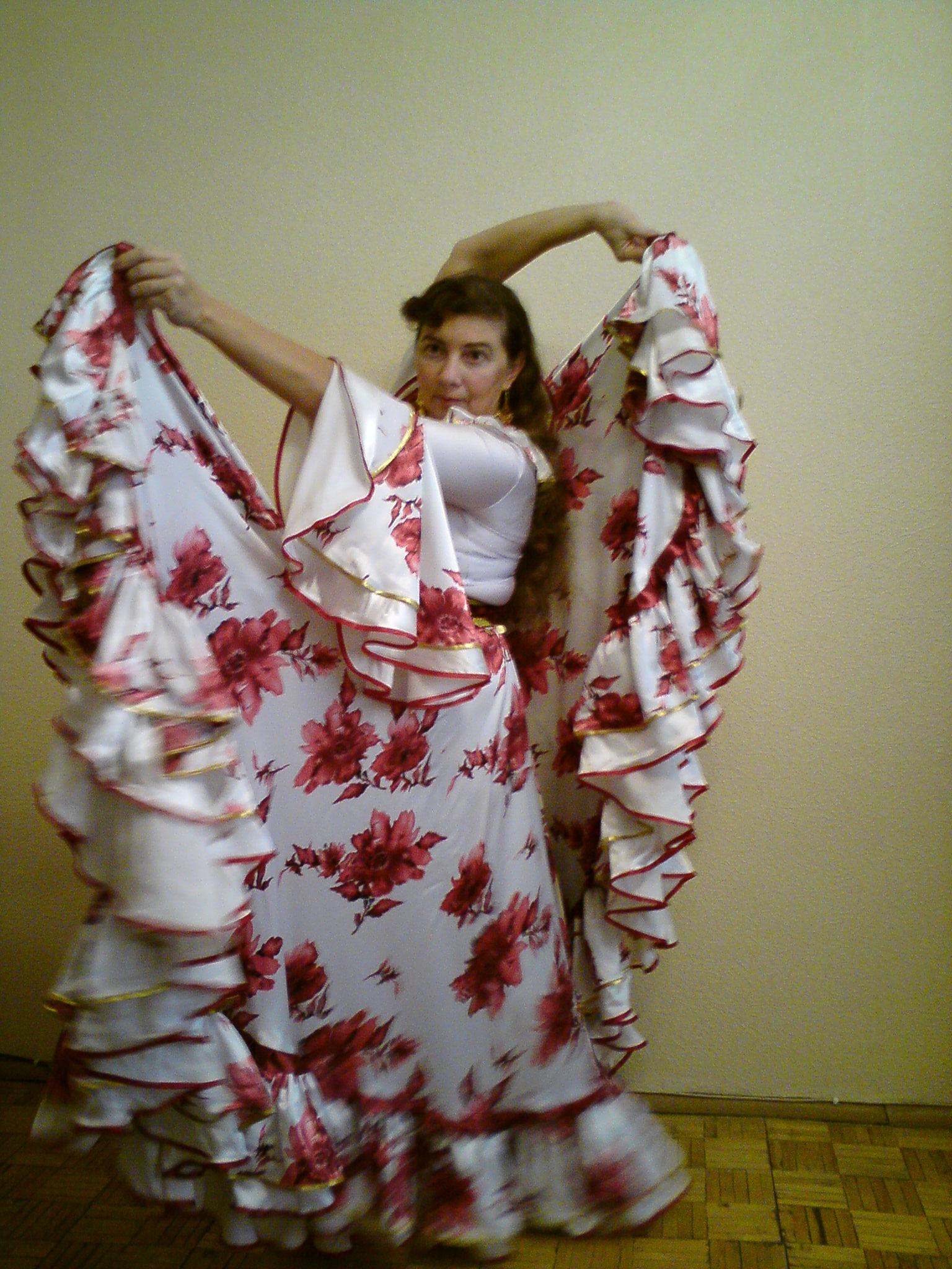 Как сшить блузку для цыганского костюма